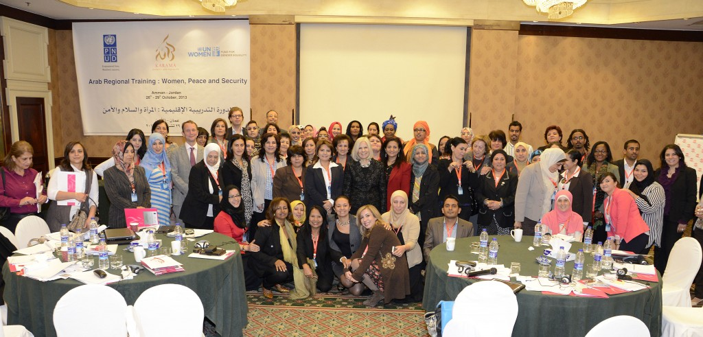 Arab Leaders and Activists gather for Regional Training in Amman.