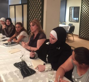 The group agreed that training and capacity building are needed to promote women's participation